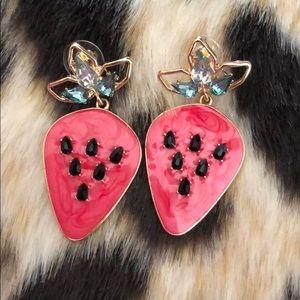 Sugar fix Strawberry Earrings